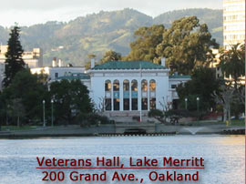 Veterans Hall, Lake Merritt